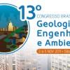 13° Congresso Brasileiro de Geologia de Engenharia e Ambiental