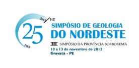 XXV Simpósio de Geologia do Nordeste