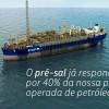 Produção de petróleo no pré sal ultrapassa 1 milhão de barrís /dia
