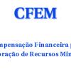 Atualização dos valores recolhidos pela CFEM nos municípios de Pernambuco