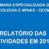 Relatório de Atividades da CEGM 2016