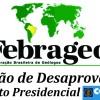 Moção da Febrageo desaprovando a decisão do Presidente do CONFEA que tira a legitimidade e legalidade  da participação do Geólogo no plenário do CONFEA