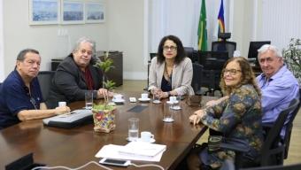 Audiência da AGP com a Vice-Governadora de PE, Engª. Luciana Santos