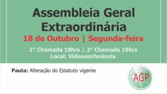 Edital de Convocação de Assembleia Geral Extraordinária – AGE